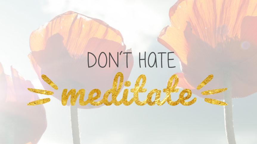 Meditation, Ruhe, Gelassenheit, Beobachter