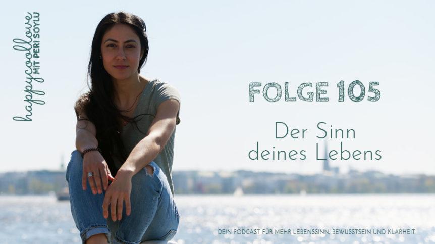 der Sinn des Lebens, der Sinn, happycoollove Podcast, Peri Soylu, Life Coaching, Hamburg
